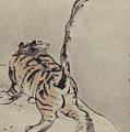 Tiger Painting by Gao Qipei