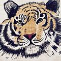 Tiger Tiger Burning Bright by Donald Paczynski