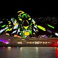 Tiger Tiger Burning Bright - Sydney Vivid Festival by Bryan Freeman