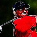 Tiger Woods by Paul Ward