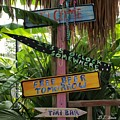 Tiki Bar Sign by Dennis Stein