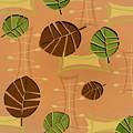Tiki Lounge Wallpaper Pattern by Little Bunny Sunshine