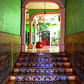 Tiled Foyer 2 by Mexicolors Art Photography