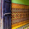 Tiled Foyer by Mexicolors Art Photography