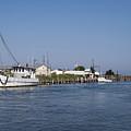 Tilghman Island Water Way Eastern Shore Of Maryland by Brendan Reals
