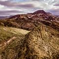 Tilt-shift Mountain Peak by David Stevens