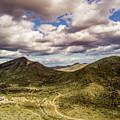 Tilt-shift Mountain Road by David Stevens