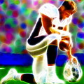 Tim Tebow Magical Tebowing 2 by Paul Van Scott