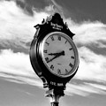 Time For Bourbon Black And White by Mel Steinhauer