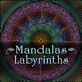 Labyrinth And Maze Mandalas by Becky Titus