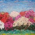 Time Of Rhododendron by Inga Leitasa ArtBonBon