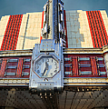 Time Theater Marquee 1938 by Theresa Campbell