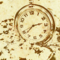 Time Worn Vintage Pocket Watch by Jorgo Photography - Wall Art Gallery