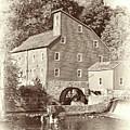 Timeless-clinton Mill N.j.  by Regina Geoghan