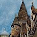 Timeless In Edinburgh by Karen Fleschler
