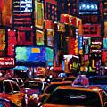 Times Square by Debra Hurd