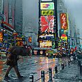 Times Square by James  Mingo
