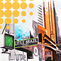 Times Square Little Brazil by Jean Pierre Rousselet