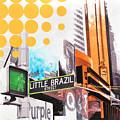 Times Square Little Brazil by Jean Pierre Rousselet