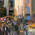 Times Square by Merle Keller