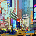 Times Square New York by Russ Harris