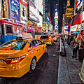 Times Square Nyc by Stefan Mazzola