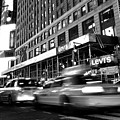 Times Square Taxi by Gene Sizemore