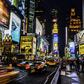 Times Square Traffic by Nick Zelinsky
