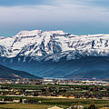 Timpanogos And The Heber Valley 2 by TL Mair