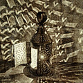 Tin Lamp Lights The Night by Jeff Folger