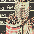 Tin Signs And Coffee Shops by Jorgo Photography - Wall Art Gallery