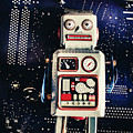Tin Toy Robots by Jorgo Photography - Wall Art Gallery