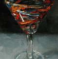 'tini Glass by Kathy Busillo