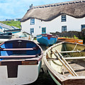 Tinker Taylor Cottage Sennen Cove Cornwall by Terri Waters