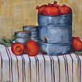 Red Pomegranates by Kareni Bester