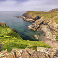Tintagel Cliffs by Framing Places