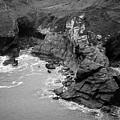 Tintagel Rocks by Ross Henton