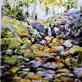 Tiny Brook by Jongdee Thongkam