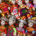 Tiny Chinese Dolls by Michele Burgess