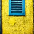 Tiny Window With Closed Shutter by Silvia Ganora