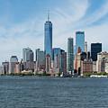 Tip Of Manhattan Wide by Robert VanDerWal