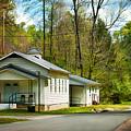 Tip Top Baptist Church by Lena Auxier