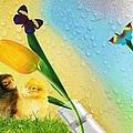 Tiptoe Through The Tulips by Liane Wright