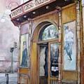 Tirso De Molina Old Tavern by Tomas Castano