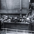 Titanic Rescue Ship Carpathia Arriving In Dock by The Titanic Project