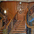 Titanics Grand Staircase by DigiArt Diaries by Vicky B Fuller