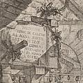Title Plate by Giovanni Battista Piranesi