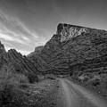 Titus Canyon Road by Peter Tellone