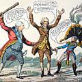 T.jefferson Cartoon, 1809 by Granger