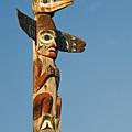 Tlingit Totem Pole by Greg Vaughn - Printscapes